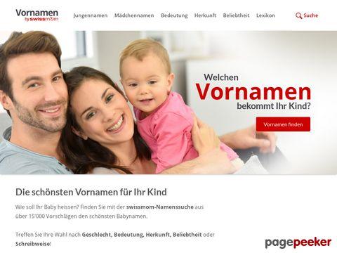 Vornamen.ch: Das grosse Namenslexikon für Babynamen, Namensbedeutung und mehr...