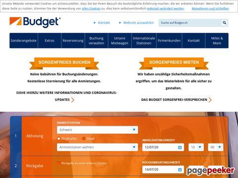 budget.ch - Budget Autovermietung