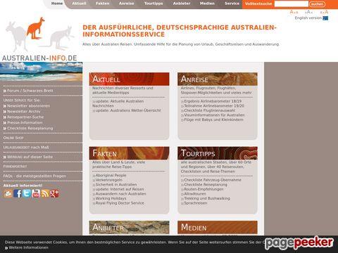AUSTRALIEN-INFO.DE: Australien-Infodienst für Down Under