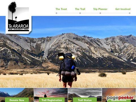 Te Araroa Trail (Neuseeland - NZ)