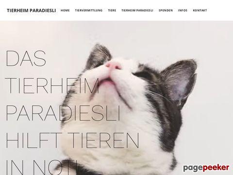 Tierheim Paradiesli - Das Ferienparadies für Haustiere