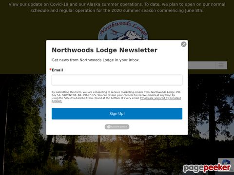 Northwoods Lodge - Alaska salmon fishing and Alaska fly fishing lodge