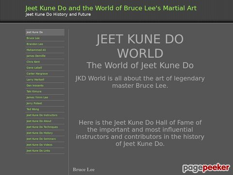 Jeet Kune Do JKD World Bruce Lee Jkd Videos And Instructors
