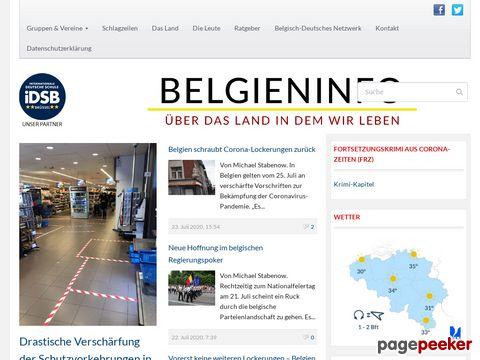 belgieninfo.net - aktuelle Informationen über Belgien