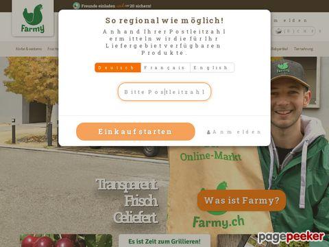 Farmy.ch - Regionale Bio Produkte direkt von Produzenten
