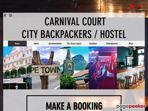 Carnival Court - Backpackers Cape Town | Hostel | Accommodation | Travel Desk