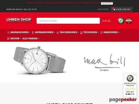 uhren-shop.ch - Der Uhren Spezialist