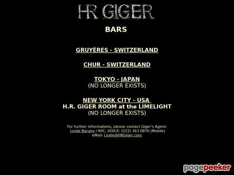 H.R.Giger - Bar (Chur)