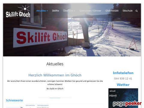 Skilift Ghöch (ZH-Oberland)