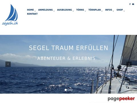 segeln.ch - Informationen rund ums Segeln in der Schweiz und im Ausland