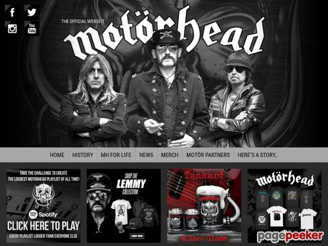 ------MOTORHEAD----- THE OFFICIAL WEB SITE