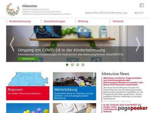 tagesfamilien.ch - Kinderbetreuung in Tagesfamilien - Adressen und Informationen (Schweiz)