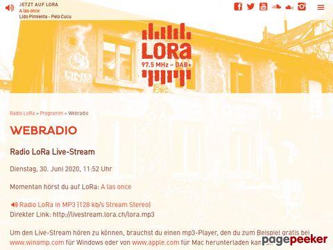 Radio LoRa 97,5 - Webradio