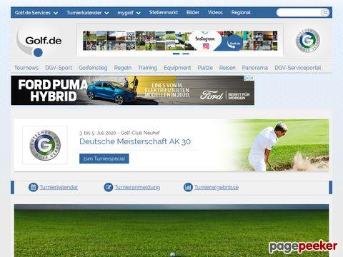 golf.de - Die grösste deutschsprachige Golfsport-Website