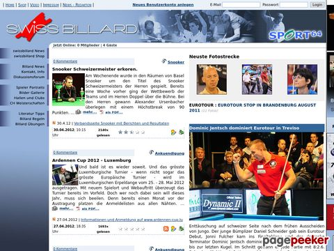 Sport64 - Swissbillard - Shop und News