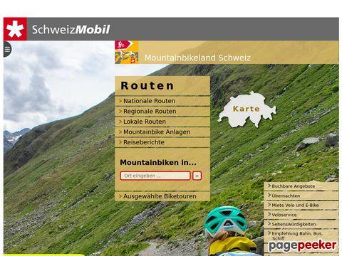 mountainbikeland.ch - die schösten offiziell signalisierten Routen zum Mountainbiken in der Schweiz