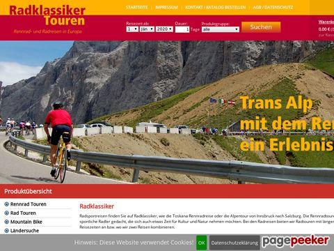 Rennradreisen in Europa