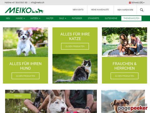 meiko.ch - Meiko Heimtierbedarf - Shop