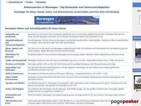 reisezielinfo.de - Norwegen - Fakten, Infos, Tipps