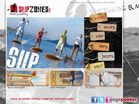 supzones.com - SUPZONES Stand Up Paddle Surfing Portal