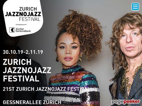 jazznojazz.ch - Jazznojazz - Festival - Zürich