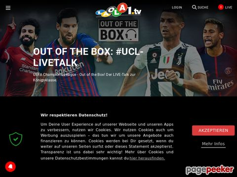 LAOLA1.tv - Sport-TV via Internet