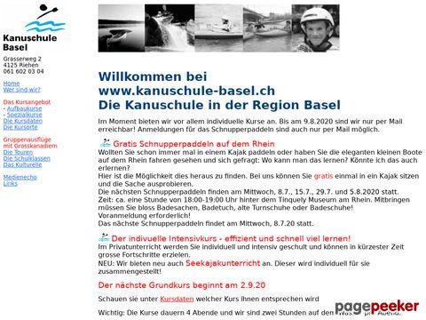 Kanuschule Basel