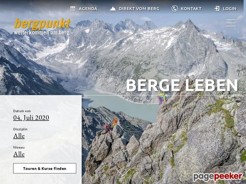 bergpunkt.ch - Touren & Kurse
