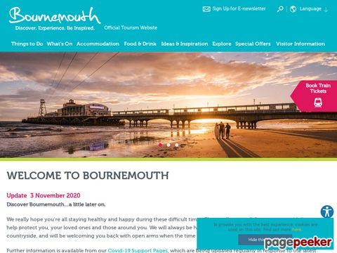 Bournemouth Tourism - official website!