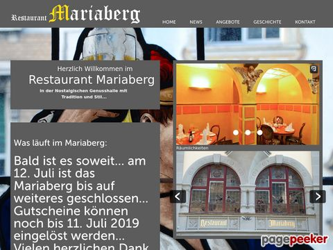 Mariaberg - Kulturlokal und Bar mit Musik in Rorschach SG