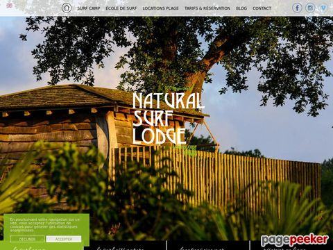 Natural Surf Lodge - all inclusive surf camp @ Seignosse and Hossegor beaches
