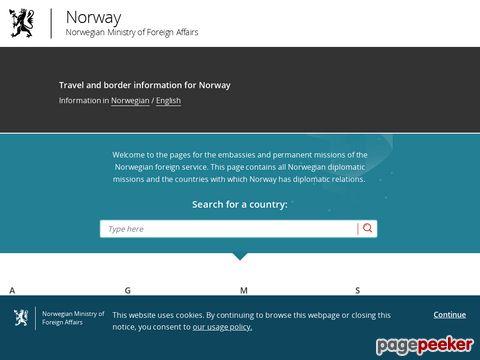 Norwegen - die offizielle Seite in der Schweiz