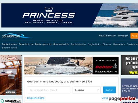scanboat.com - Skandinavischer Bootsmarkt