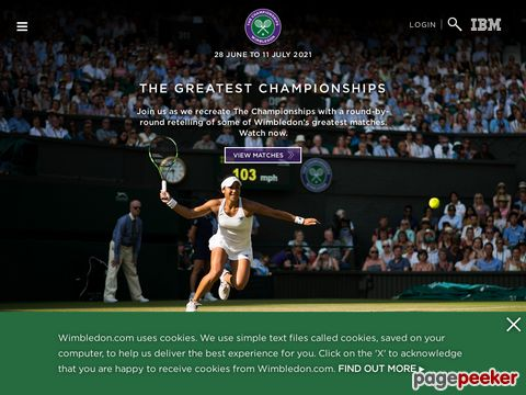 Wimbledon - The All England Lawn Tennis Club (England)