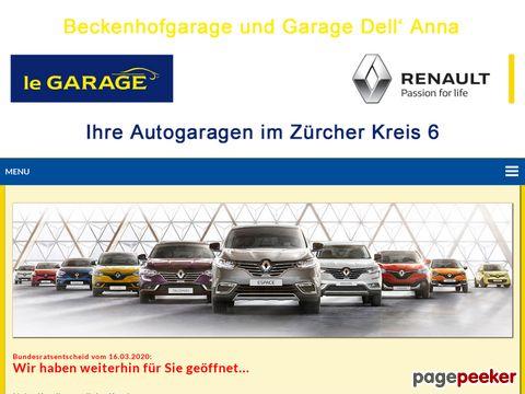 Beckenhofgarage G. DellAnna - Offizielle Renault-Vertretung & Reparatur aller Marken (Zürich)