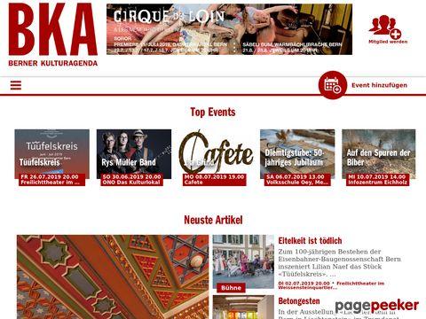 bka.ch - Berner Kulturagenda