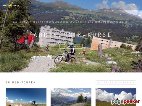 bike-explorer.ch - Bike-Karten, Bike-Guides auf CD-ROM