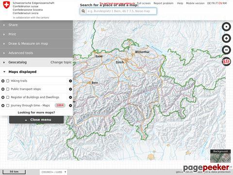 map.geo.admin.ch - Beste Schweizer Kartenapp