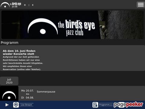 the birds eye jazz club Basel