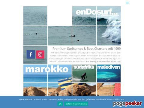 endo surfcamps; Marokko, Malediven, Südafrika und Irland