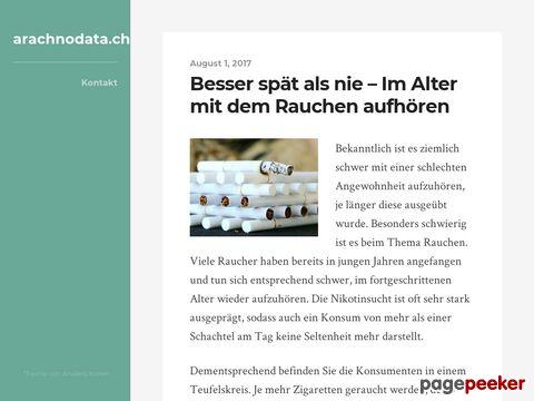 ARACHNODATA - Informations- & Beratungs-Fachstelle für Skorpione und Spinnentiere