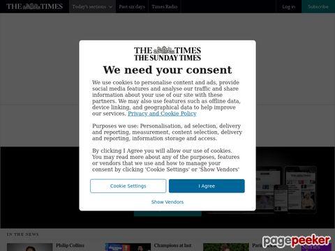 TIMES online (United Kingdom)