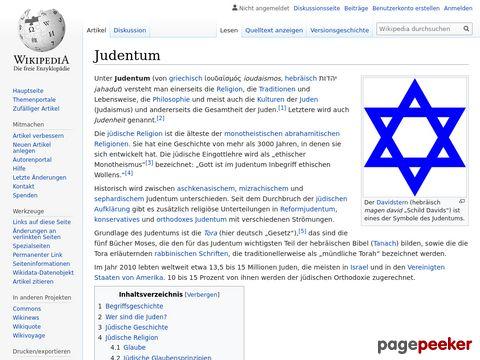 Judentum - Wikipedia
