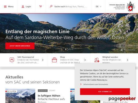 SAC - CAS: Schweizer Alpen-Club SAC