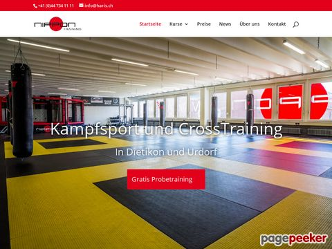 Karate Club Nippon Training - Haris Reiz