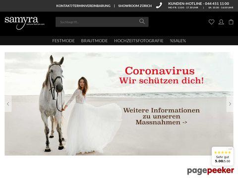 Samyra Fashion - Preiswerte Brautmode und Abendkleider