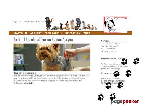 Hunde Coiffeur Stübli - Der Hundecoiffeur im Kanton Aargau