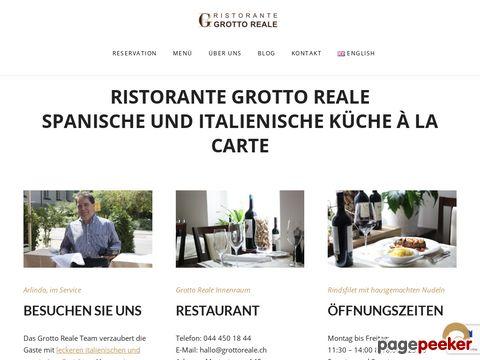 Grotto Reale - Mediterrane, Spanische, Italienische Küche in Zürich