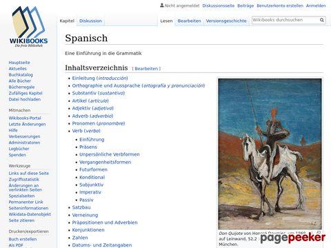 Spanish - Eine Einführung in die Grammatik