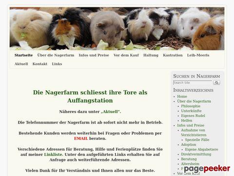 nagerfarm.ch - Haus- und Rassemeerschweinchen aus dem Aargau